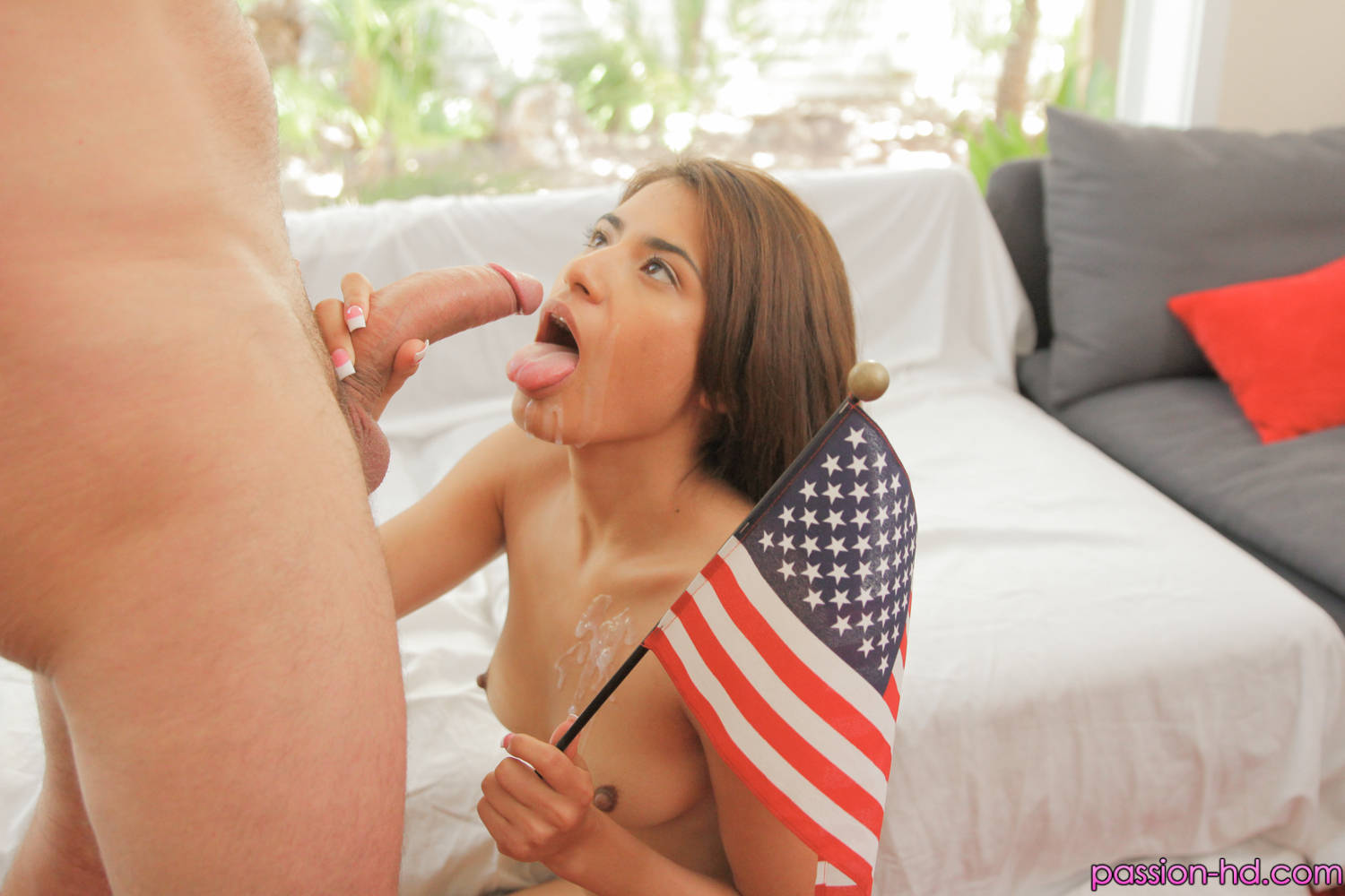 Passion HD Ava Mendes in Patriotic Pictures 6