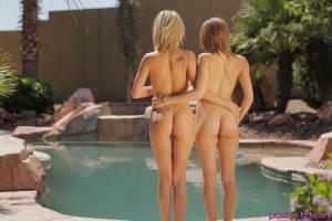 Passion Hd Dakota Skye & Natasha White in Getting The Pool Ready