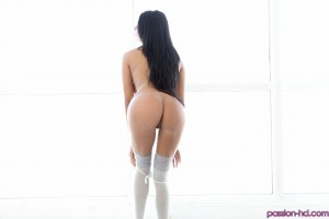 Passion Hd Anissa Kate in Naked Yoga Ball Exercise 26