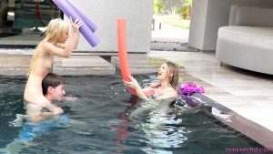 Passion Hd Lily Rader & Piper Perri in Spring Break Pool Party 24
