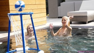 Passion Hd Lily Rader & Piper Perri in Spring Break Pool Party 25