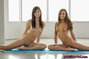 Passion Hd Kimberly Costa & Mary Lynn in Naked Stretching 7