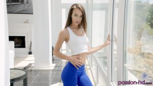Charity Crawford in Sensual Yoga 1